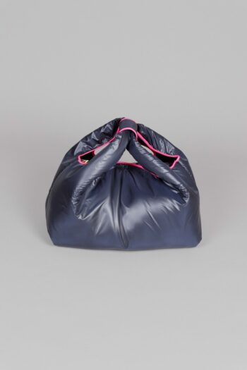 NAVY BLUE NYLON BAG
